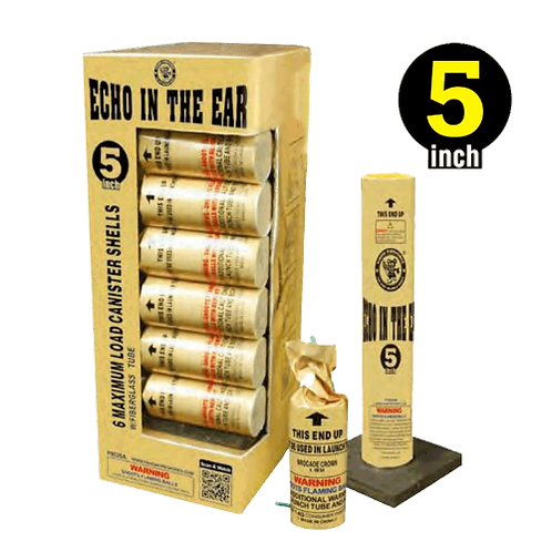 "5"" Echo in the Ear (6 canisters)"