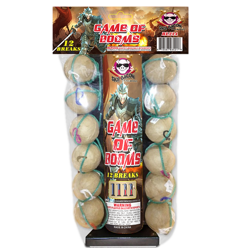 Game of Booms (12 shells)