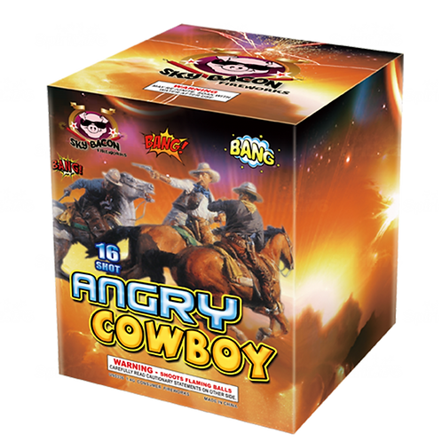 Angry Cowboy (16 shots)