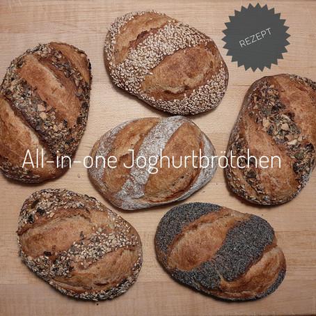 All-in-one Joghurtbrötchen