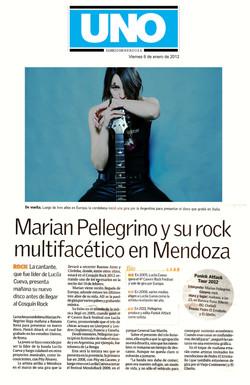 2012 01 - Diario UNO