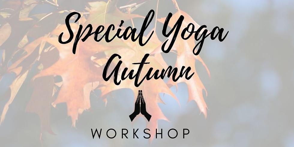 Special Yoga Autumn Workshop