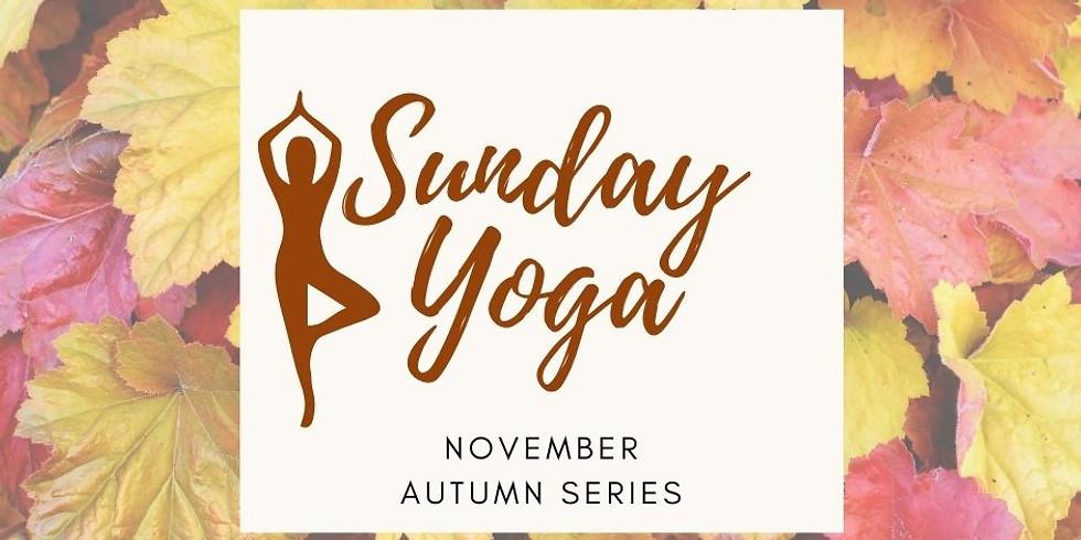 Sunday Yoga Autumn 22/11