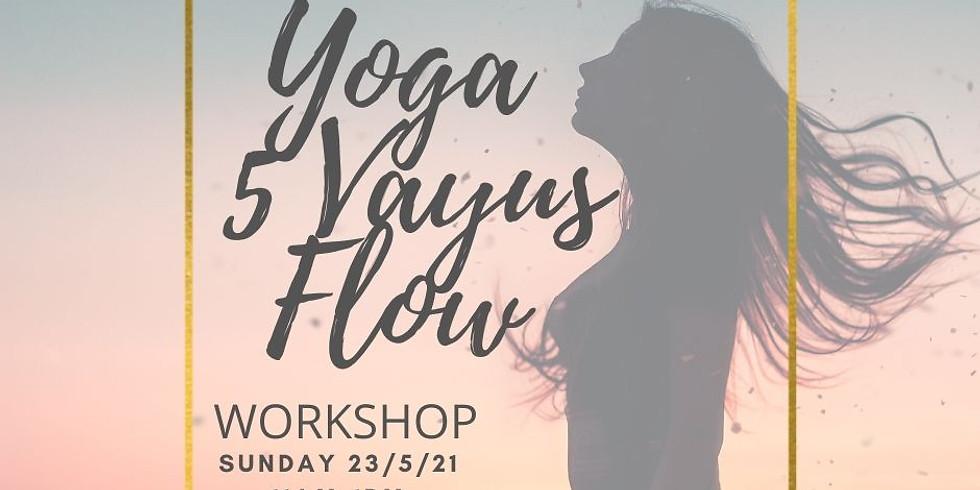 Yoga 5 Vayus Flow
