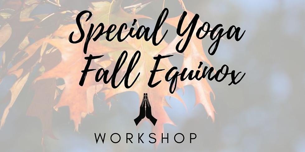 Special Yoga Fall Equinox