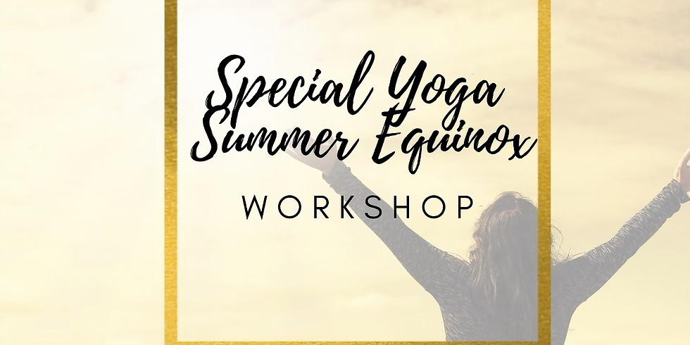 Special Yoga Summer Equinox