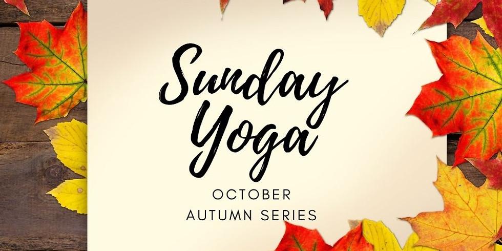 Sunday Yoga Autumn 25/10