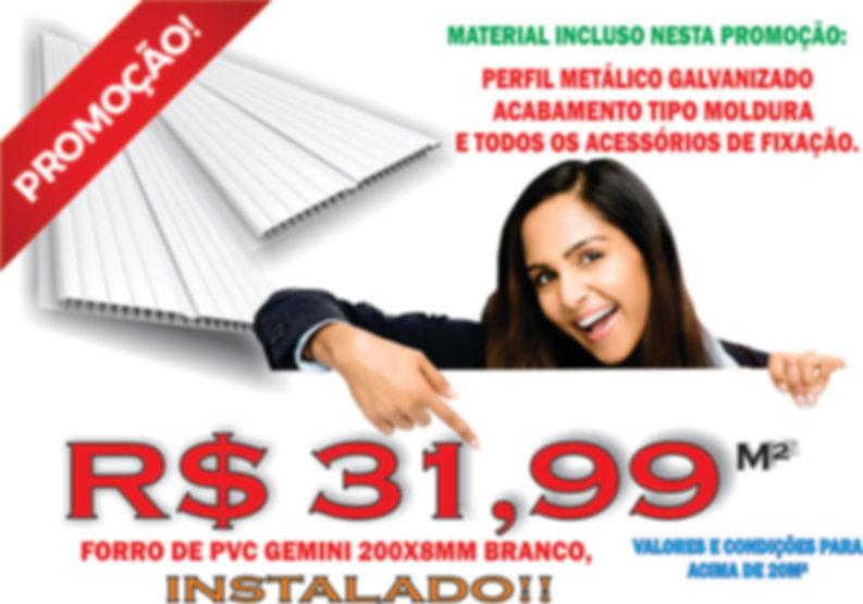 Promoção do Forro de PVC | Installe