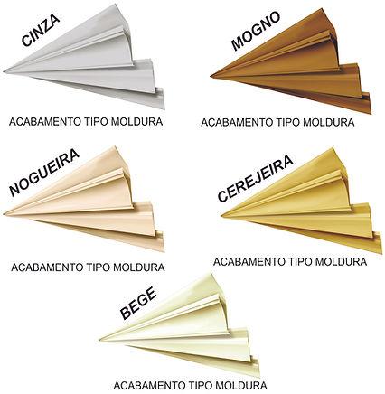 ACABAMENTO PARA FORRO DE PVC COLORIDO.
