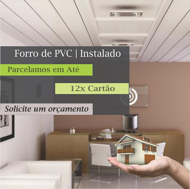 Forro de PVC Colocado com Melhor Preço por m² de São Paulo