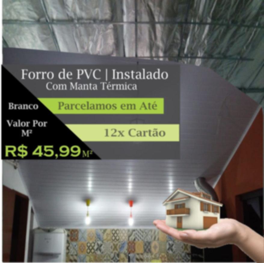 Forro de PVC Térmico | Installe Forro de PVC