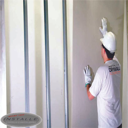 Revestimento em Drywall agora também na Installe.