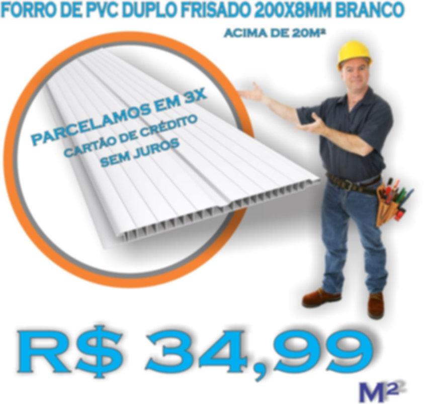 Forro de PVC São Paulo Instalado