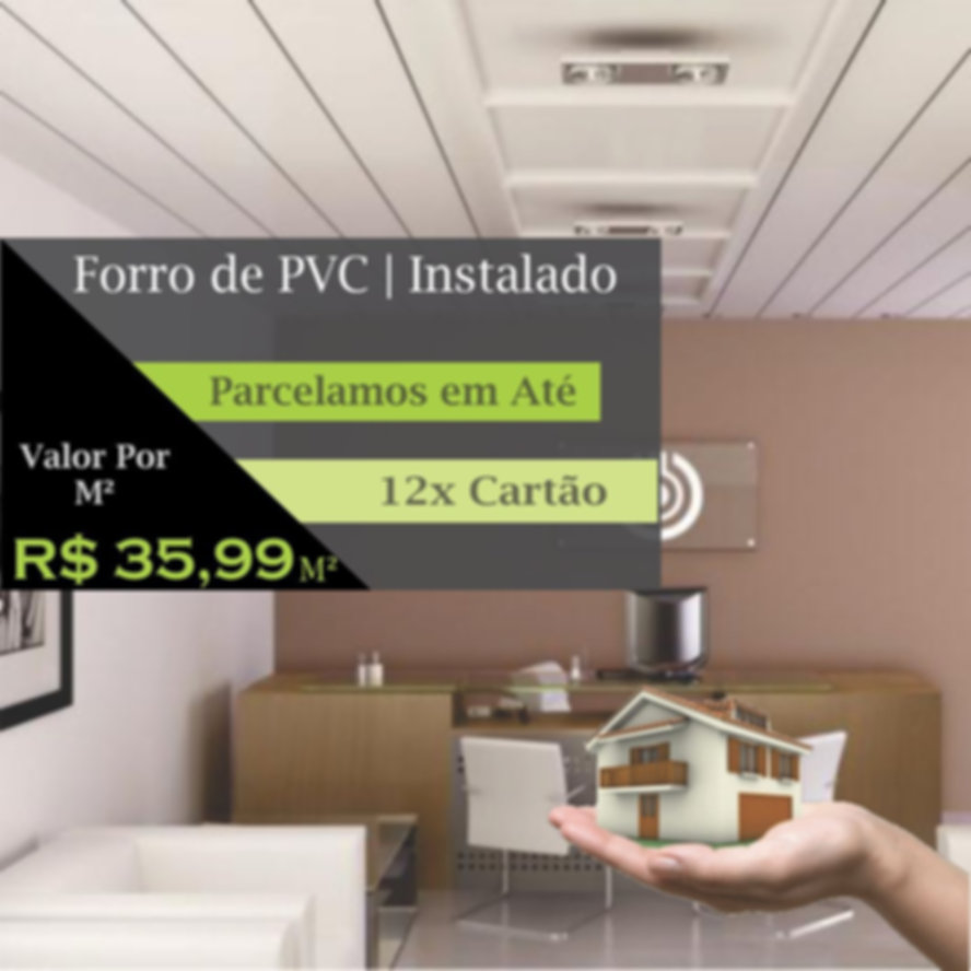 Forro de PVC | Installe | São Paulo | Peço | M²