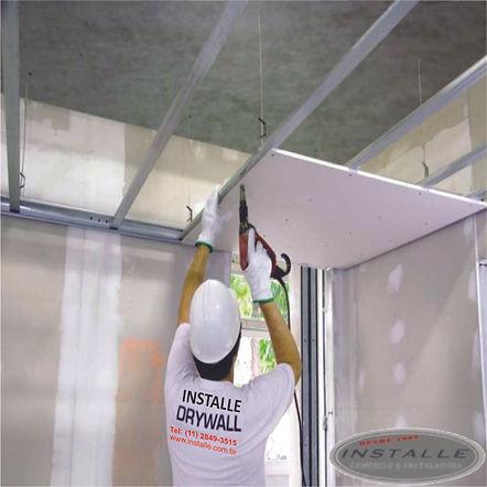 Forro de Drywall Colocado com o Melhor Preço de São Paulo.