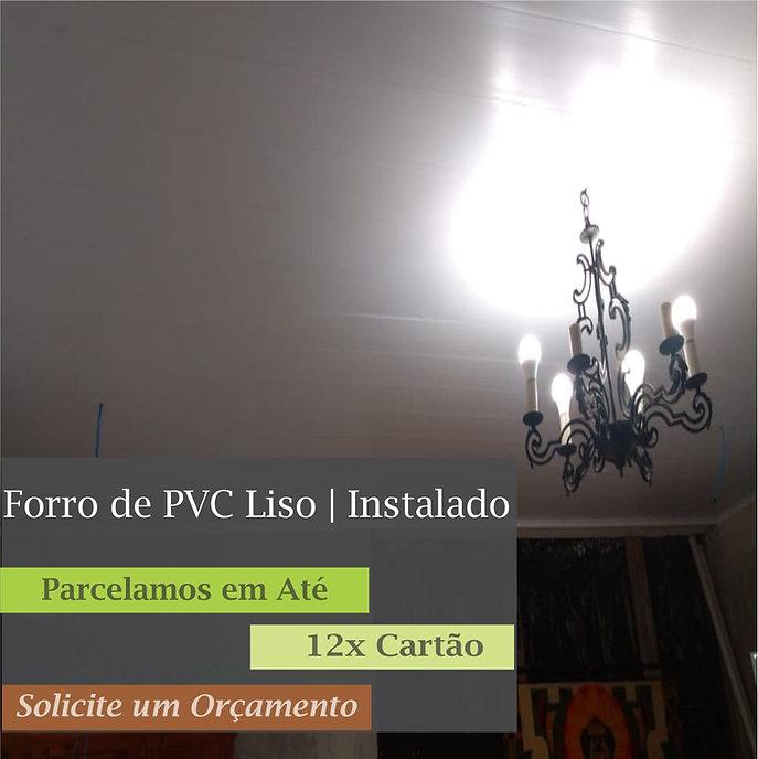 Forro de PVC Liso Instalado em São Paulo | Installe