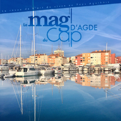 Draculi & Gandolfi dans le magazine du Cap D'Agde