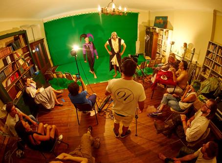 Archive : Le studio Phocéen en tournage en décors virtuel