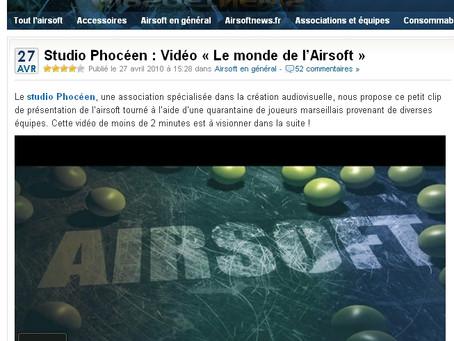 Le Studio Phocéen sur « Airsoft News »