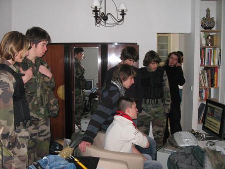 Le Studio Phocéen en tournage à Roquevaire le 26, 27 28 février 2007