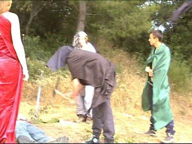 Le Studio Phocéen en tournage à Aubagne en juillet 2005