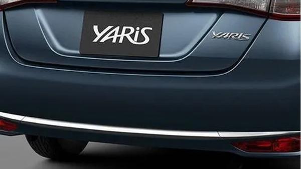 Aplique Do Para-choque Traseiro Yares Sedan