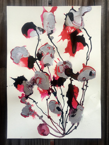 SOLD-Imaginary Flower 25