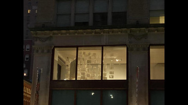 ASE Installation from Broad Street @ Night