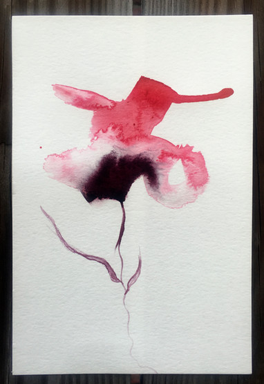 SOLD at Auction - Imaginary Flower 1