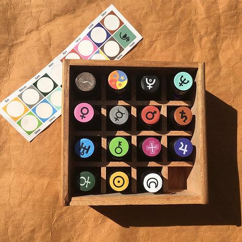 Labels for Acutonic's Harmonic Essentials® Oils Bottle Cap Tops