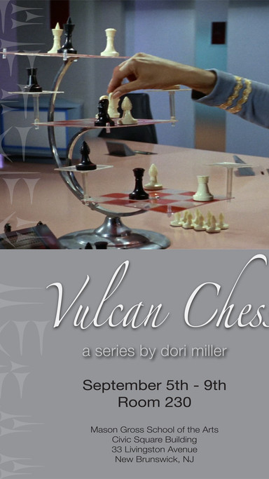 Vulcan Chess Exhibition Poster