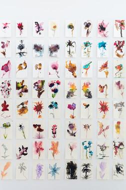 Imaginary Flowers (wall 1)