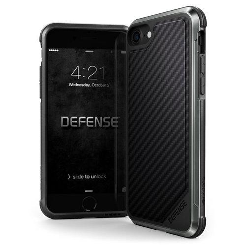 Defense碳纖/皮防撞保護套