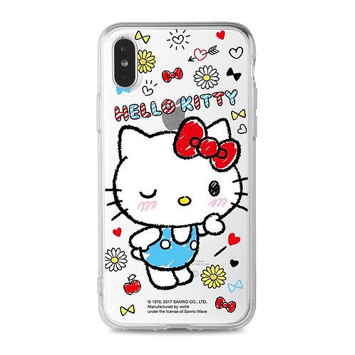 Hello Kitty 透明保護殻 (KT111)