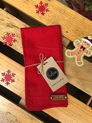 Bandana Xmas Red Santa Paws.jpeg
