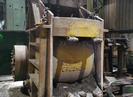 CSL Purchases Used Brown Lenox Kue-Ken 120S Jaw Crusher.