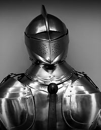 antique-armor-black-and-white-chrome-350