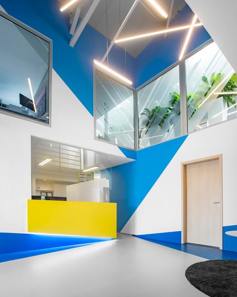 pc arena interior office retail receptio