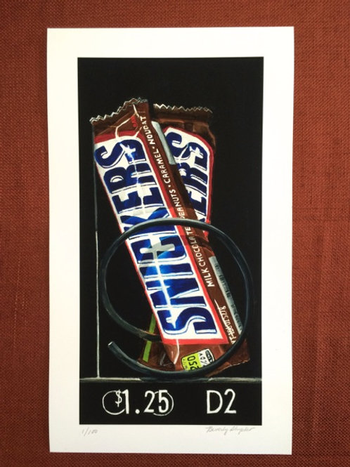 Snickers Vending Machine Candy