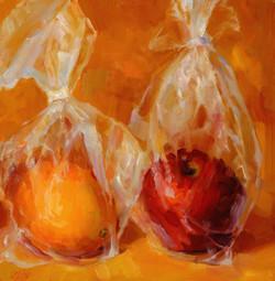 Mimiaga. Fruit in Plastic