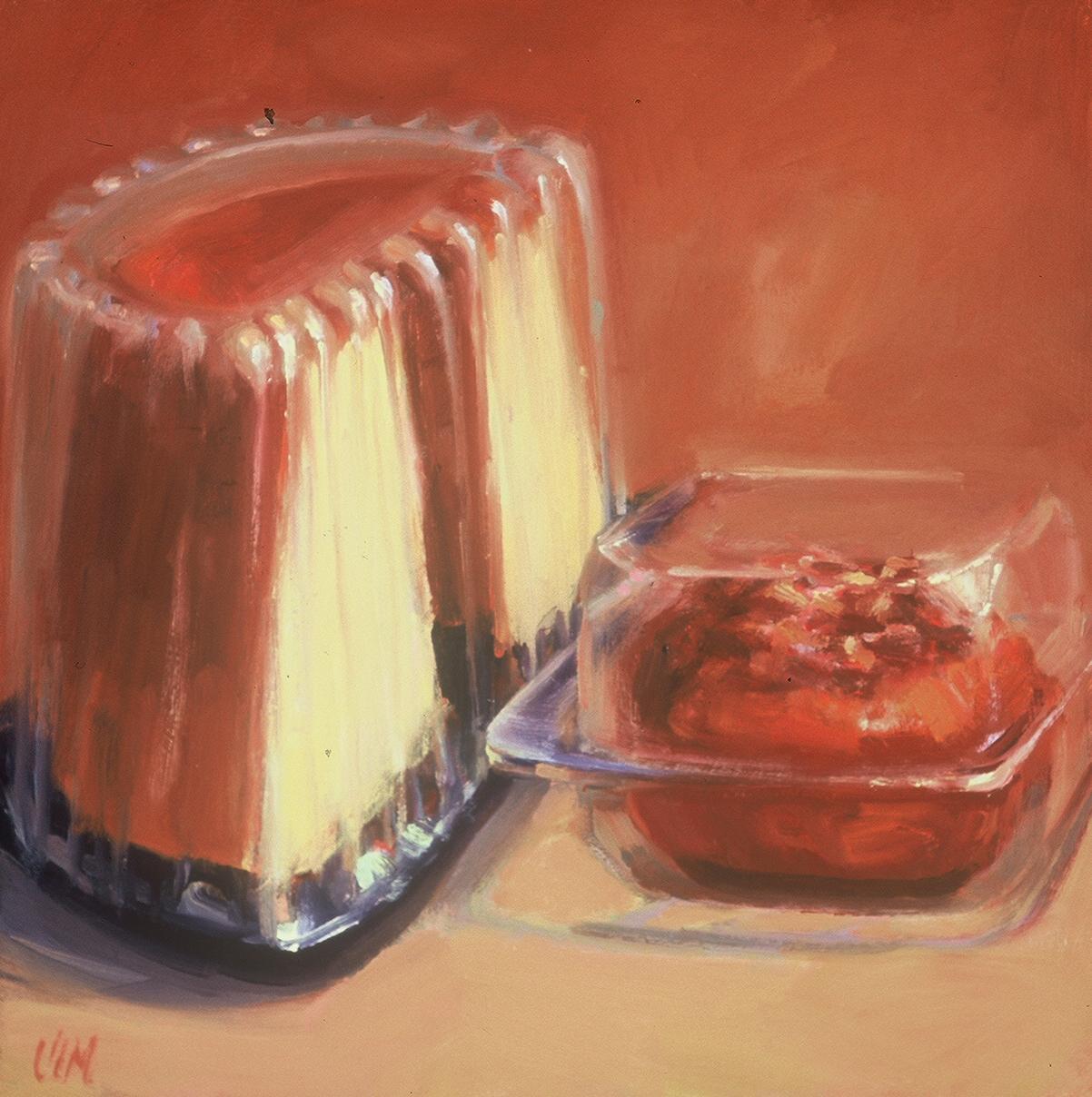 half a bundt cake