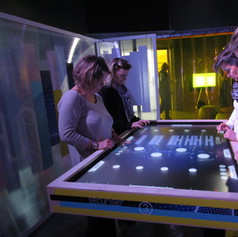 applications sur table multitouch