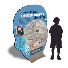 design panneaux exposition enfants