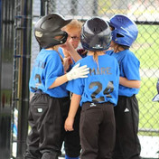 Huddle in dugout