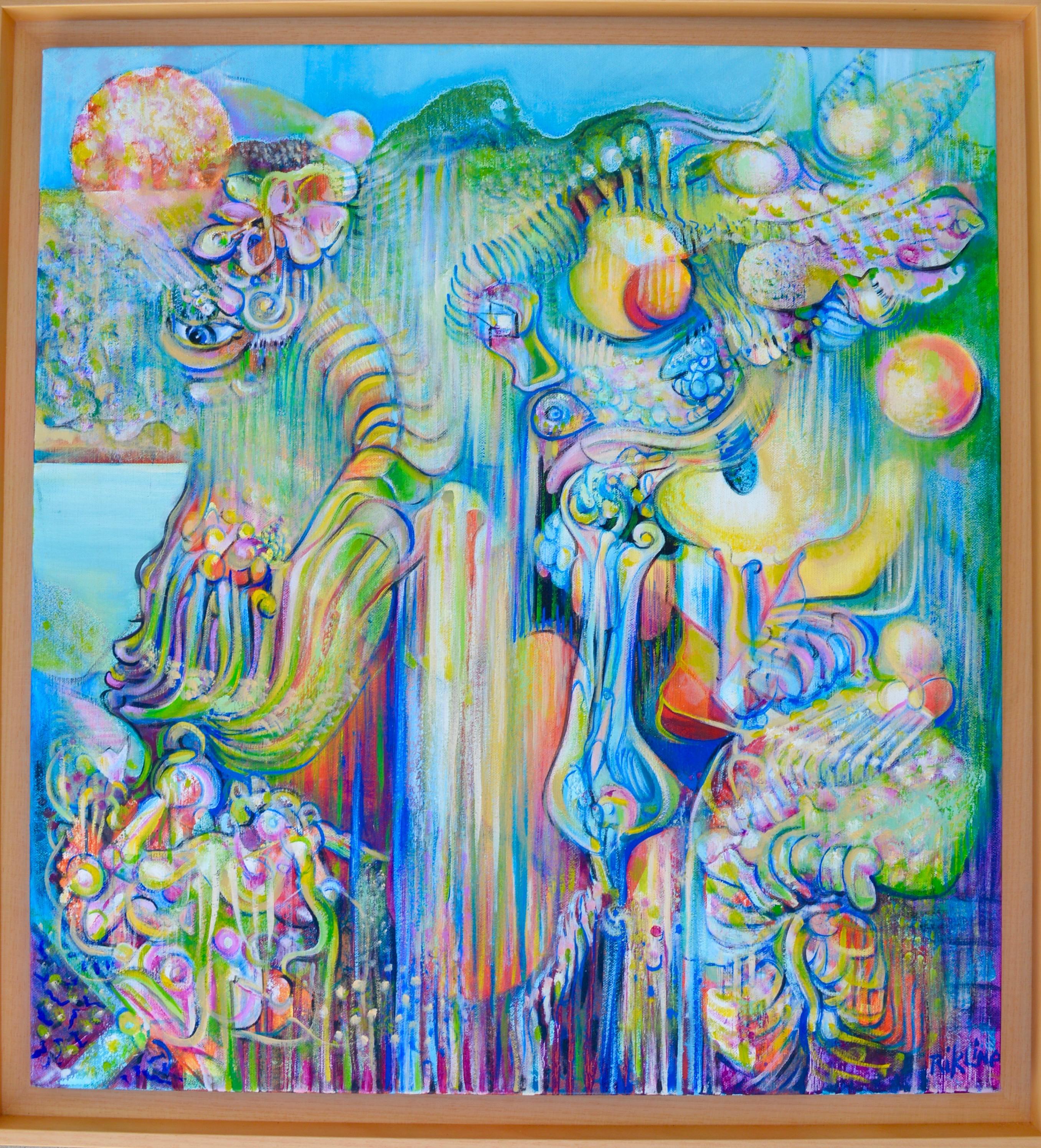 2014 anemone tears 65x60