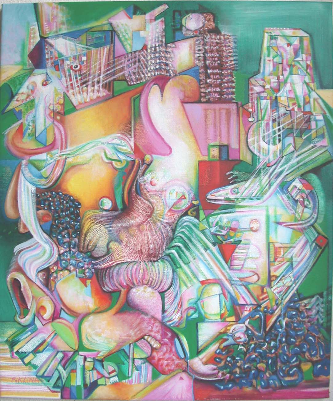 2006 the face of chaos (metropolis)90x75