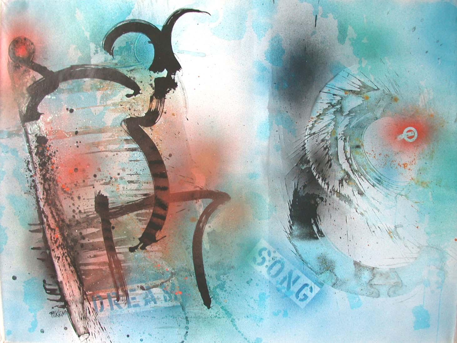 1992 dream song (the sjaman)140x180