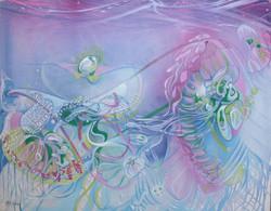 2000 pelagic dance (medusa)95x120