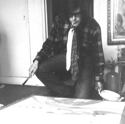 #1965 studio Vrolikstraat amsterdam 1965