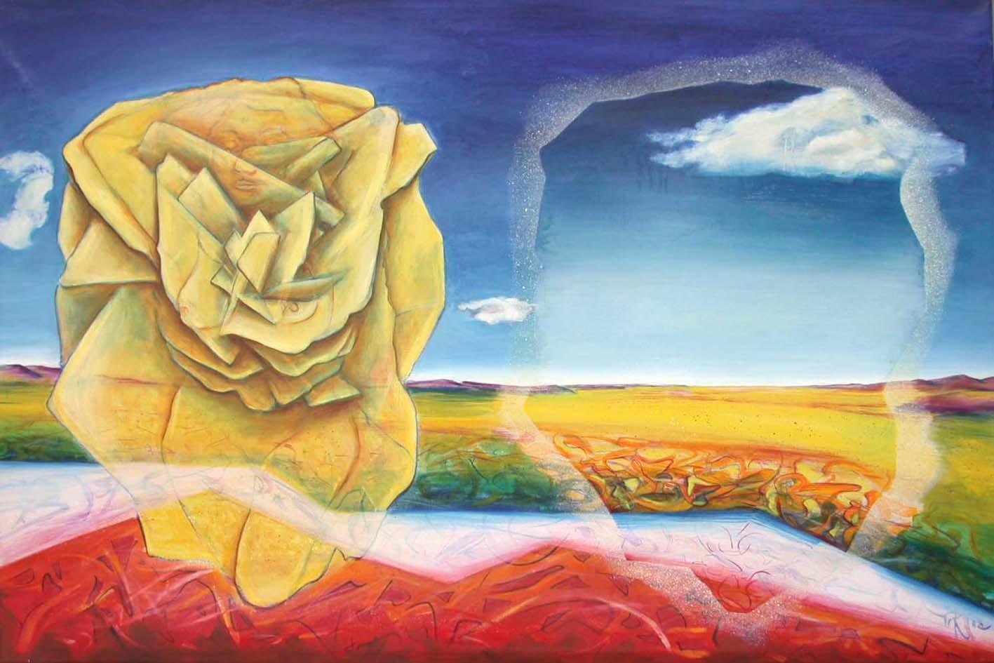 1972 desert rose100X150